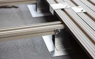 AliDeck Non-Combustible Aluminium Metal Decking Photo Gallery Page
