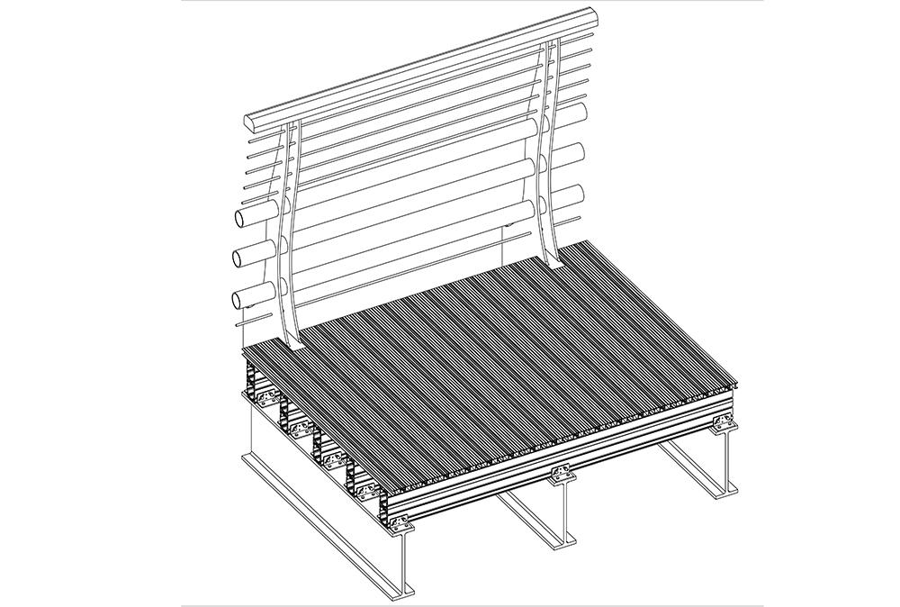 Alideck Millenium Walkway SNR Balcony Flat Board With Supa J