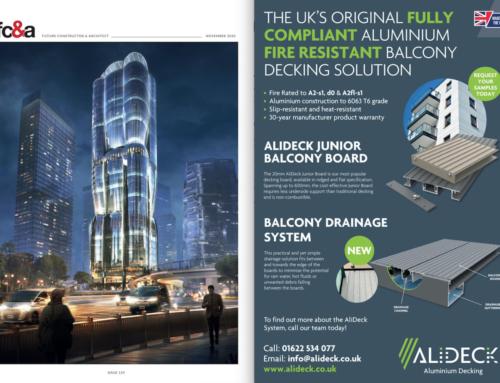 AliDeck Board and Drainage System Featured In FC&A's Magazine