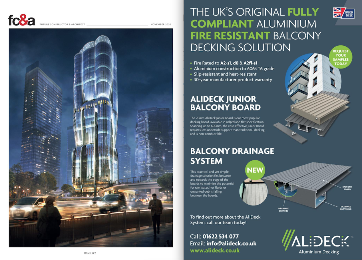 AliDeck Featured In FC&A's Novmber issue Magazine1