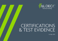 AliDeck Certification & Test Evidence