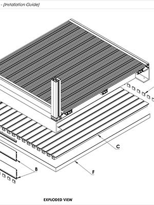 AliClad Non Combustible Aluminium Balcony Soffit Cladding Install Guides