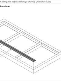 AliDeck Non Combustible Aluminium Metal Decking Junior Balcony Board Installation Guide