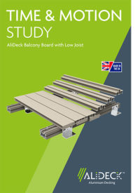 AliDeck Time Motion Board Low Joist