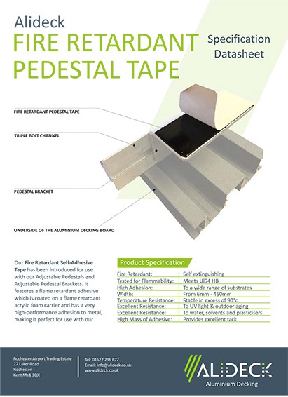 Fire Retardant Tape Spec Sheet