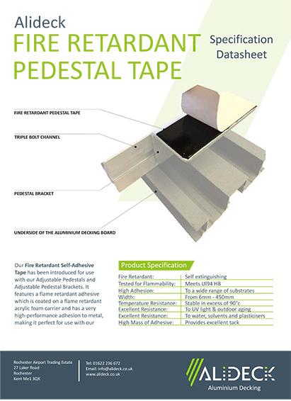 Fire Retardant Tape Spec Sheet