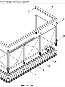 AliRail Installation Guide 3D Infill