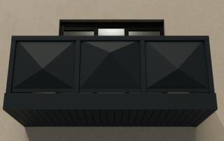 AliRail 3D Front Under
