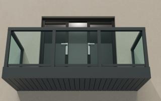 AliRail Glass Front
