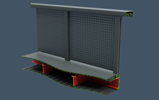 AliRail Laser Cutaway