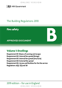 Approved Document Fire Safety Volume 1