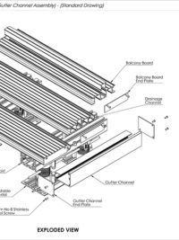 Drainage Channel Gutter Channel How To Drawing