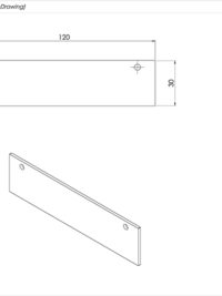 End Plate Standard Drawing