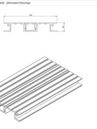 JNR Balcony Flat Board Standard Drawing