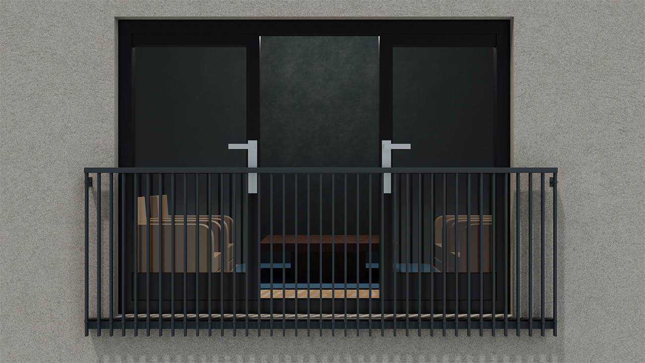 Our non-combustible balconette system