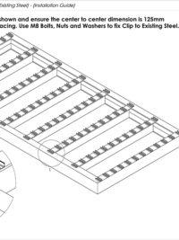 Lite Balcony Board Installation Guide Existing Steel