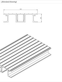 SNR Balcony Board Standard Drawing