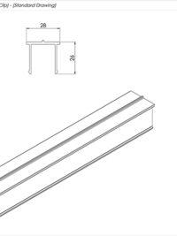 Senior Balcony Board clip Standard Drawing