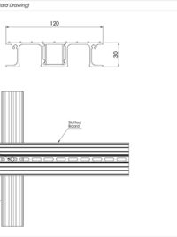 Slotted Board Standard Drawing