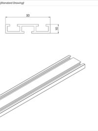 Triple Bolt Channel Standard Drawing