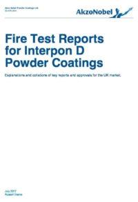 UK Fire Test Data