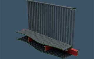 AliRail Balcony Balustardes Visualisations