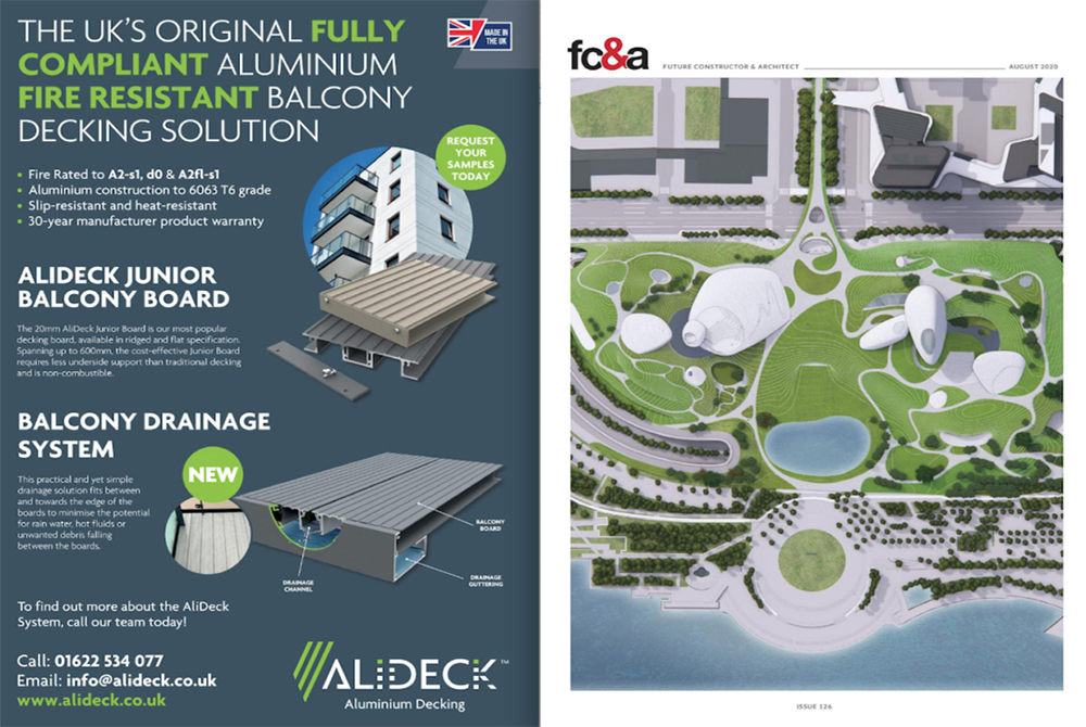FC&A AliDeck Magazine Feature August 2020