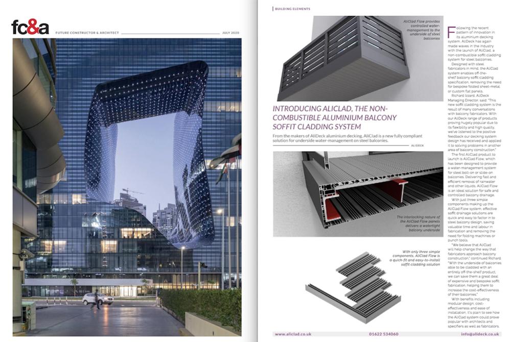 FC&A AliDeck Magzine Feature July 2020