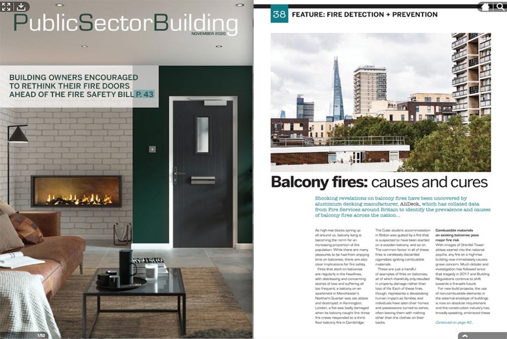 Public Sector Building Magazine Feature November 2020