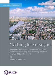 Cladding for Surveyors Supplementary Info