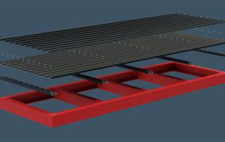 AliDeck Aluminium Decking Steel Balcony Design Lite Joist Senior Board