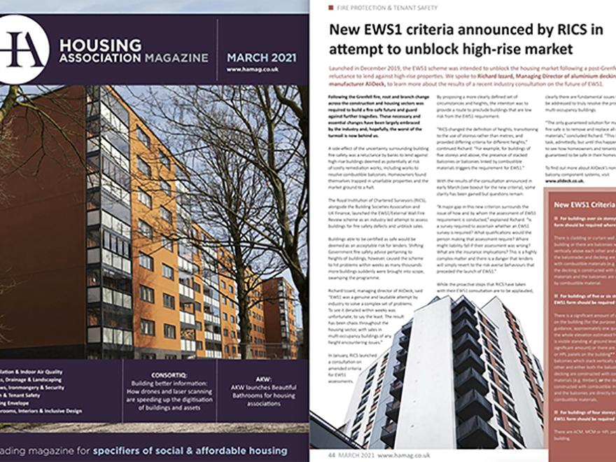 AliDeck Housing Association Magazine March 2021