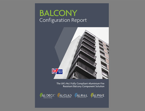 AliDeck Balcony Configurator Available For Architects Specifiers Design Balconies specify aluminium decking soffit cladding balustrades