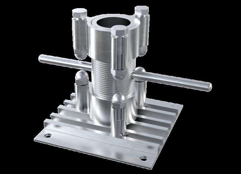 AliDeck Aluminium Adjustable Pedestal Bracket