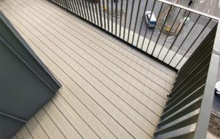 Inset balcony project Woking