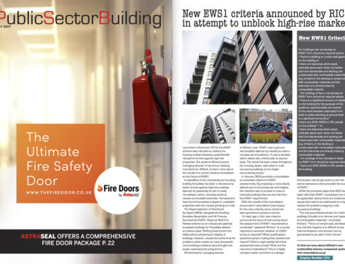AliDeck Featured in the May 2021 issue of Pubic Sector Building Magazine