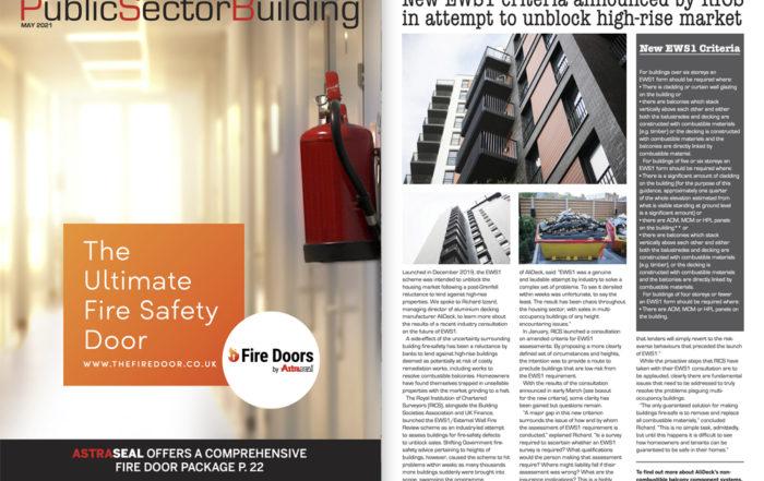 AliDeck Aluminium Decking Public Sector Building May 2021