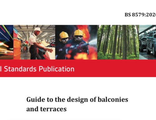 Compliant Drainage for BS8579:2020 Guide to the design of balconies and terraces