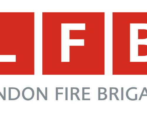London fire Brigade Balcony warning as sun ignites material