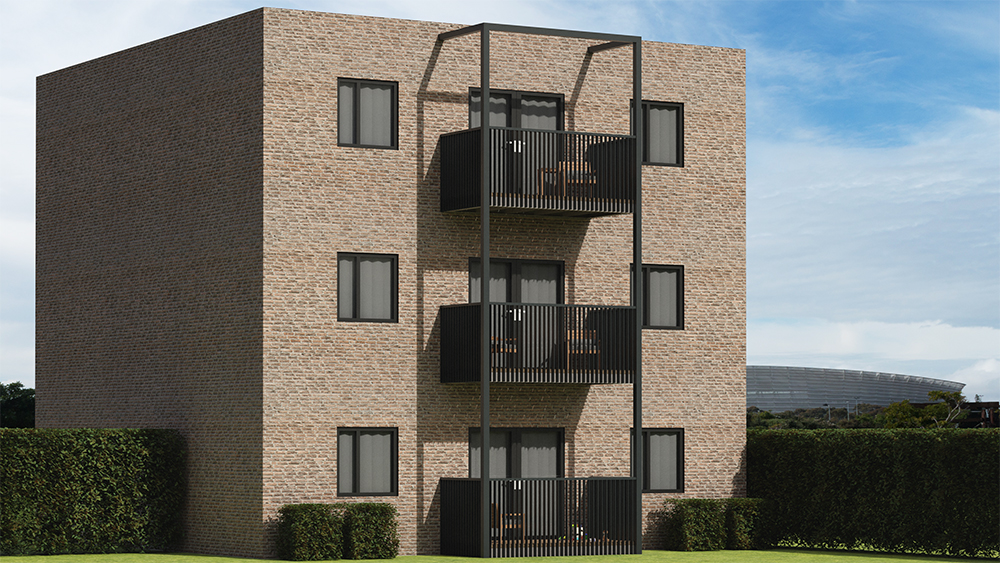 BS8579 and stacked balconies for fire safety