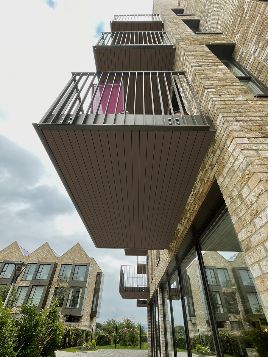AliDeck AliClad Lite Soffit Cladding Timber Replacement