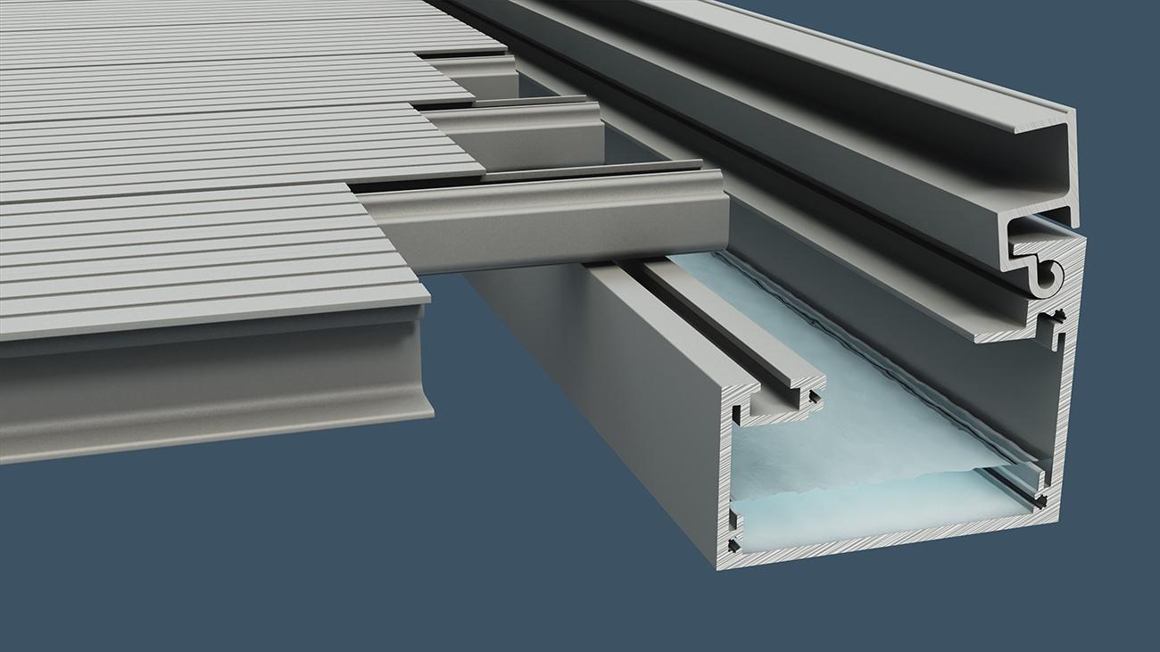 AliDeck Balcony Drainage System