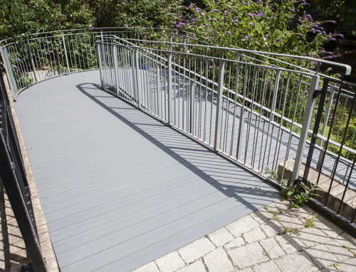 Aluminium Walkway Decking in London Case Study