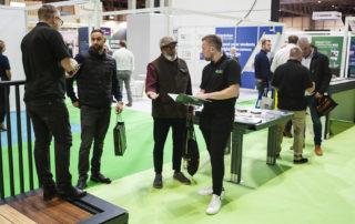 AliDeck Aluminium Metal Decking at UK Construction Week Birmingham 2021